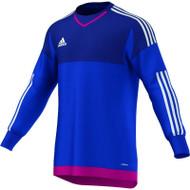 adidas Blue Goalkeeper Shirt