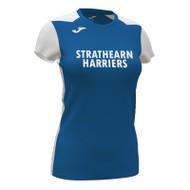 Strathearn Harriers Ladies Shirt (Royal)