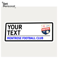Personalised Montrose FC Street Sign
