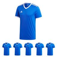 adidas Tabela 18 Kids Football Shirts - Set of 15 (Bold Blue)