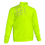Running Night Mens 1/4 Zip Sweatshirt