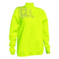 Running Night Ladies 1/4 Zip Sweatshirt