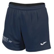 Heriot-Watt University   Sports Union Female Fitted Shorts
