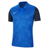 Nike Trophy IV Kids Shirt - Royal/Navy (Clearance)