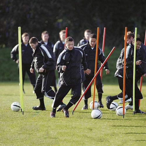 Football Boundary Flexi Poles Set