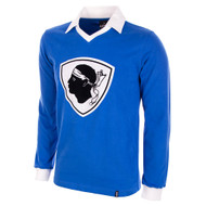 Bastia 1977-78 Home Long Sleeve Retro Shirt