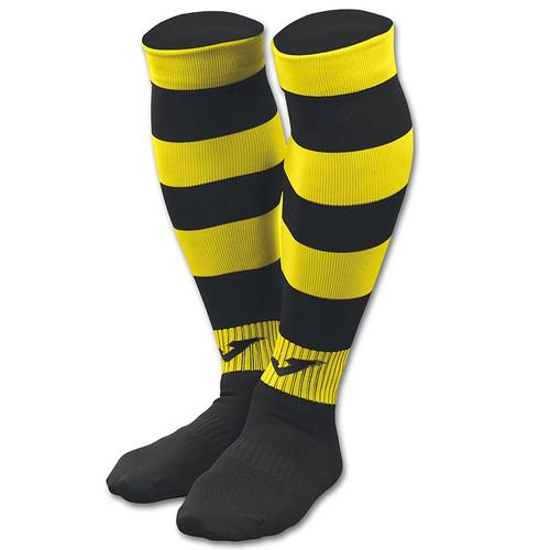 Kids Football Socks - Joma Zebra II - Black/Yellow - Teamwear