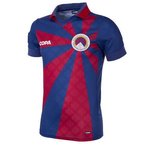 Football Shirts - Tibet Home Shirt - Blue/Red - COPA 9120