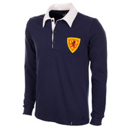 Scotland 1950s Home Long Sleeve Retro Shirt