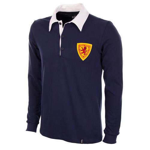 Scotland 1950s Home Long Sleeve Retro Shirt