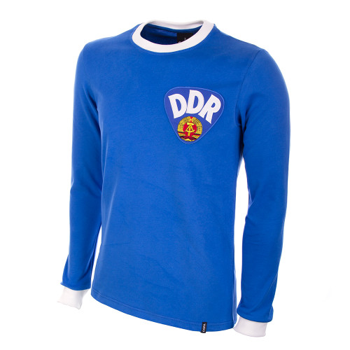 East Germany DDR 1970s Home Long Sleeve Retro Shirt