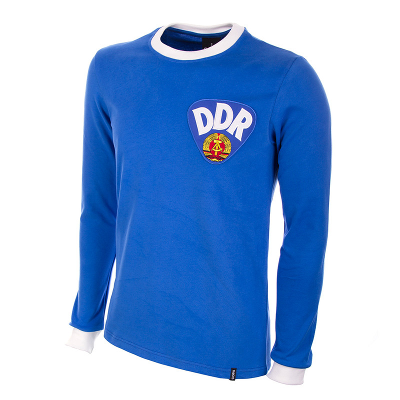 c858d9349e7 Retro Football Shirts | East Germany Home 1974 LS ...