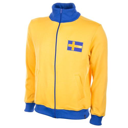 Sweden 1970s Retro Track Jacket