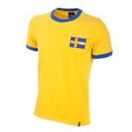 Sweden 1970s Retro Home Shirt