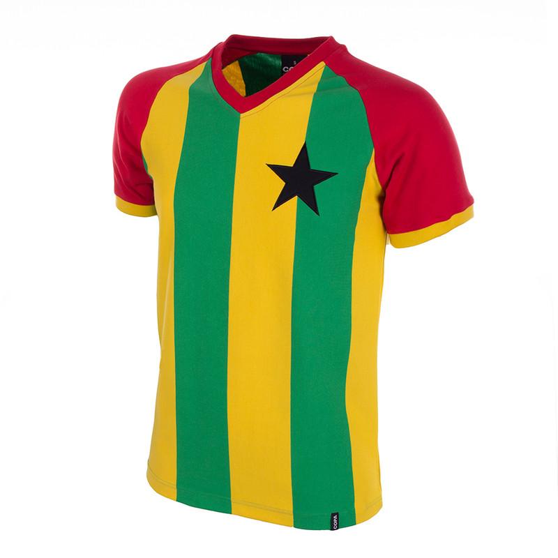 520c2f084 Copa Ghana 1980s Away Retro Shirt Copa Vintage Ghana Football ...