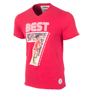 Copa George Best Miss World Football T-Shirt