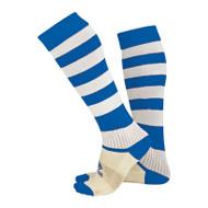 Football Socks - Errea Zone - Blue/White - A400Z