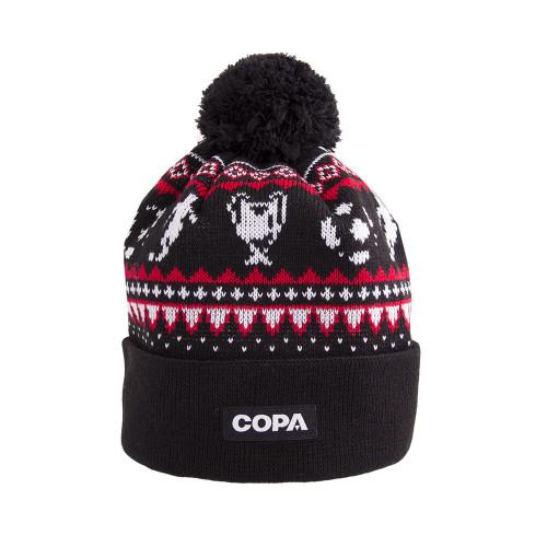 Copa Nordic Knit Football Beanie