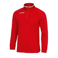Errea Mansel 1/4 Zip Training Sweatshirt Red