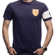 Scotland Retro Capitain Football Shirt