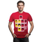 Copa Belgium's Famous Haircuts Football T-shirt