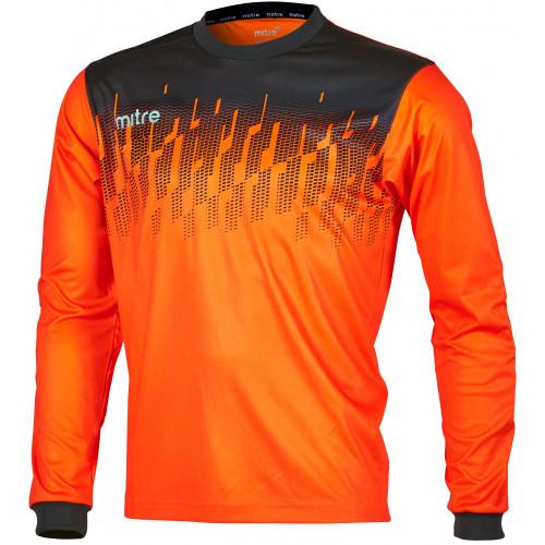 Mitre Command Goalkeeper Shirt Tangerine/Black