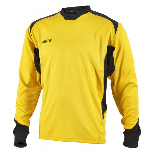 Mitre Defense Goalkeeper Shirt Yellow/Black
