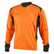 359c5b2b3 Mitre Defense Goalkeeper Shirt Tangerine Black