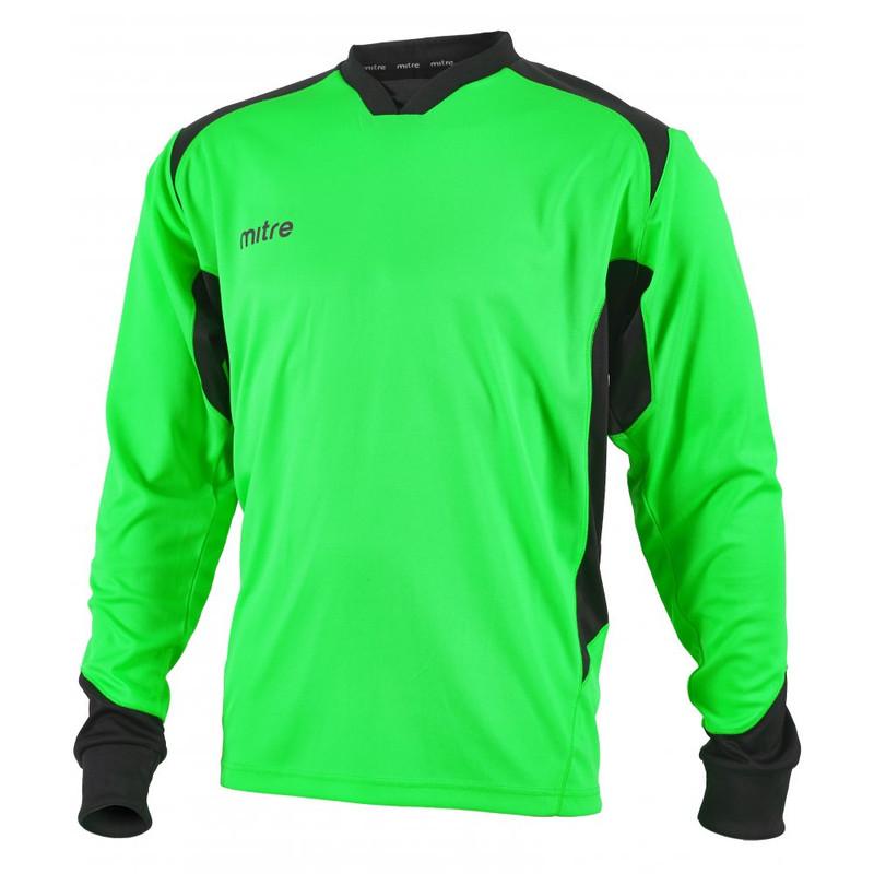 c51154921 Mitre Defense Goalkeeper Shirt Lime Black