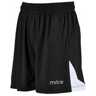mitre Prism Football Shorts Black/White