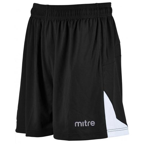 mitre Prism Football Shorts Black/White