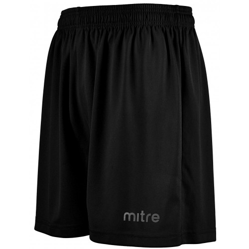 mitre Metric Football Shorts Black