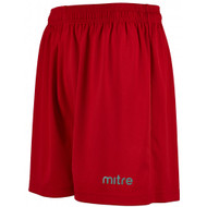 mitre Metric Football Shorts Scarlet