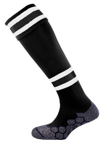 mitre Teamwear Division Tec Football Socks B/W/B