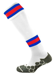 mitre Teamwear Division Tec Football Socks W/R/S
