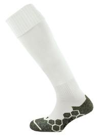 mitre Division Plain Football Socks White