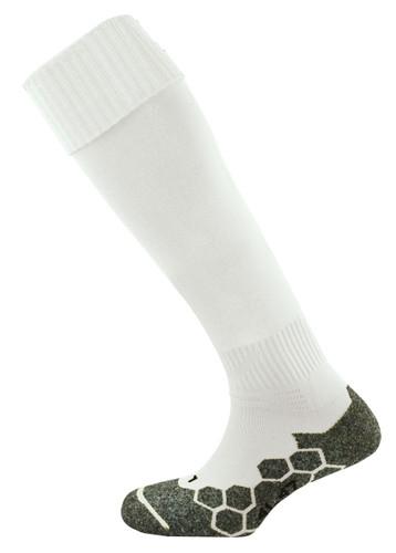 Kids mitre Teamwear Division Plain Football Socks White