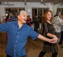 Salsa Dance Class at the Rhythm Room and Vow to Dance Ballroom Dance Studio in Dallas