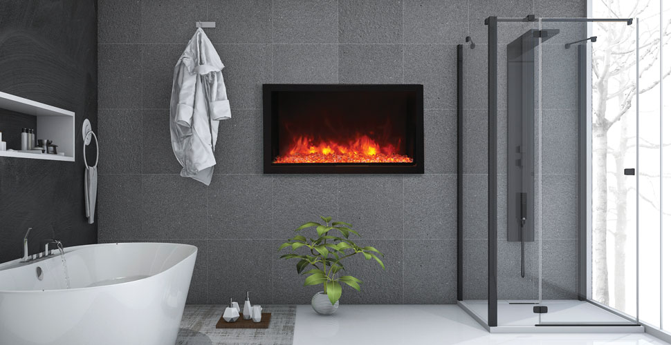 Amantii deep-xt-40 electric fireplace