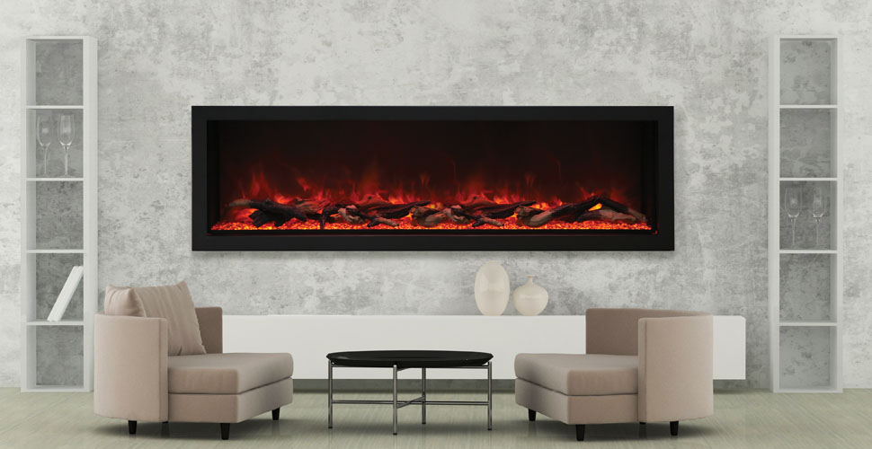 Amantii Panorama Series - BI-72-DEEP-XT electric fireplace