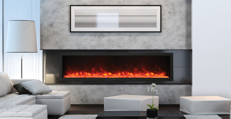 Amantii BI-88-DEEP-XT electric fireplace