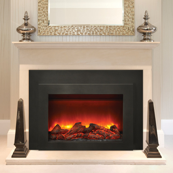 Featuring realistic flame appearance options and high quality construction