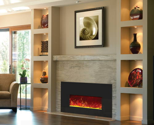 An electric heater for your fireplace insert will be a beautiful and practical addition to that space which is now sitting empty.