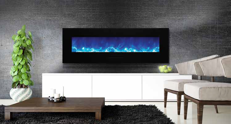 front orange purple inch electric fireplace backlight products simplifire wall mount flame black with