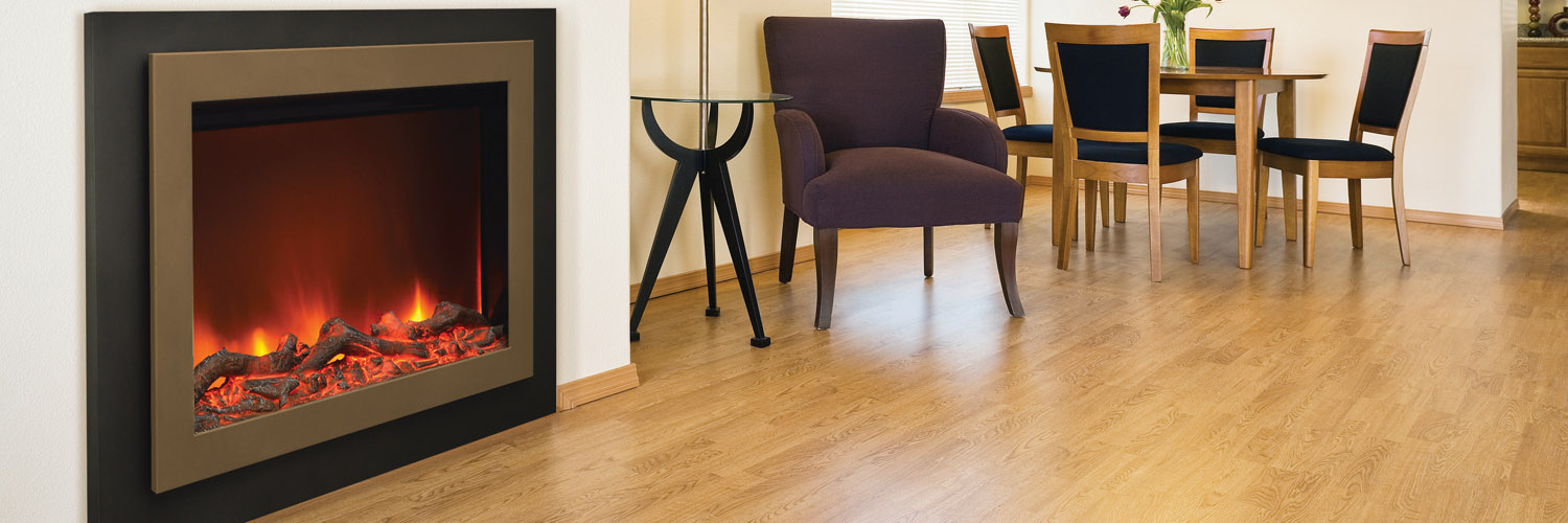 zero clearance electric fireplaces by Sierra Flame