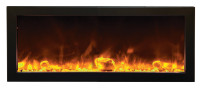 Amantii BI-40-SLIM – Full View Electric Fireplace