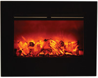 Amantii ZECL-26-2923-FLUSHMT-BG Zero Clearance Electric Fireplace