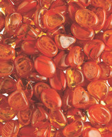 11lb Box of Sunset Orange Fire glass media