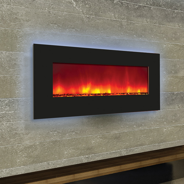 Amantii 34 inch wide electric fireplace