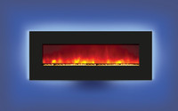"Amantii 48"" Wide Wall Mount or Built-In back-lit Electric Fireplace - WM-BI-48-5823"